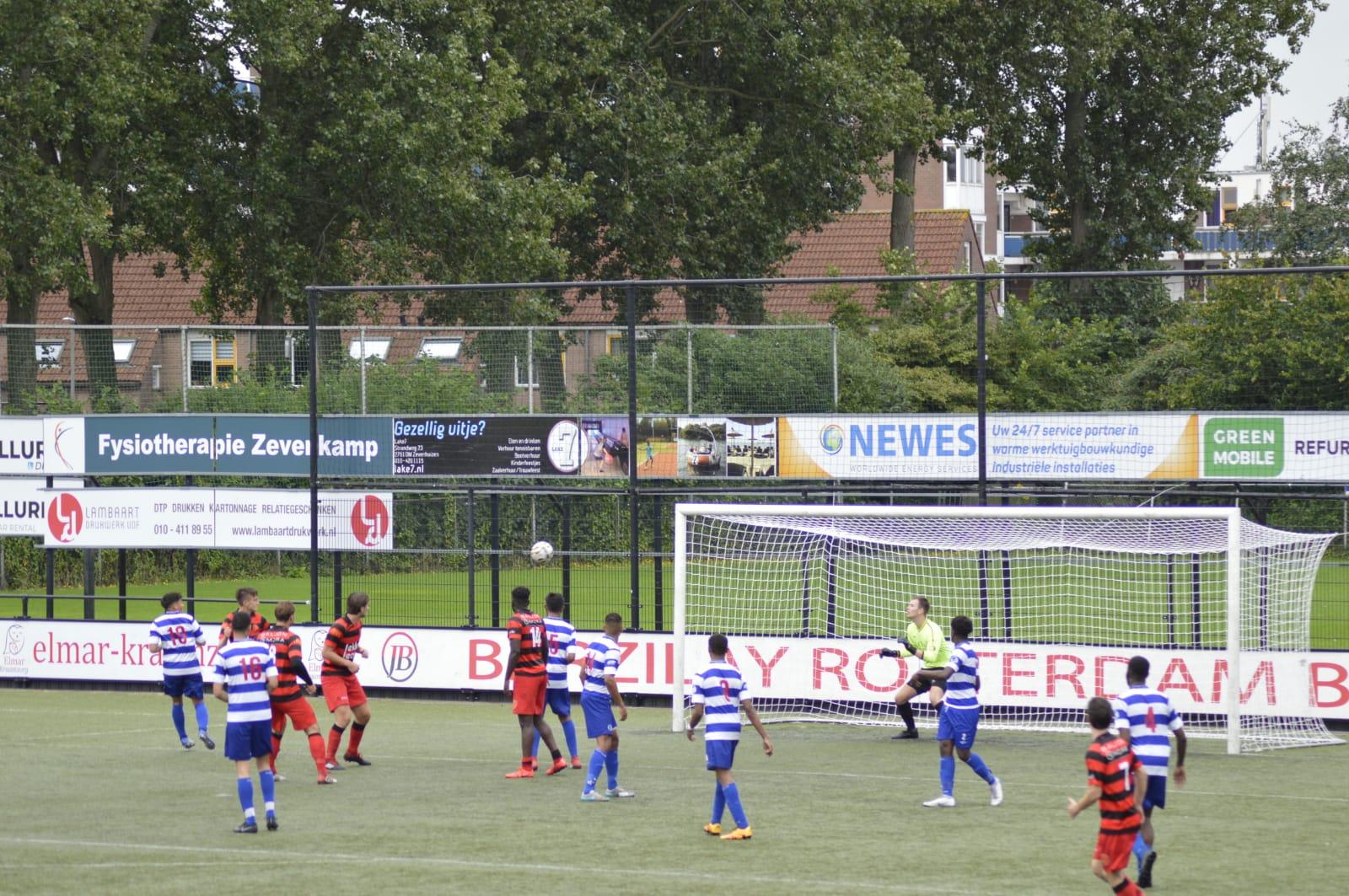 Lex Jeroense cup 2019: XerxesDZB(zo) verliest van VV Nieuwerkerk