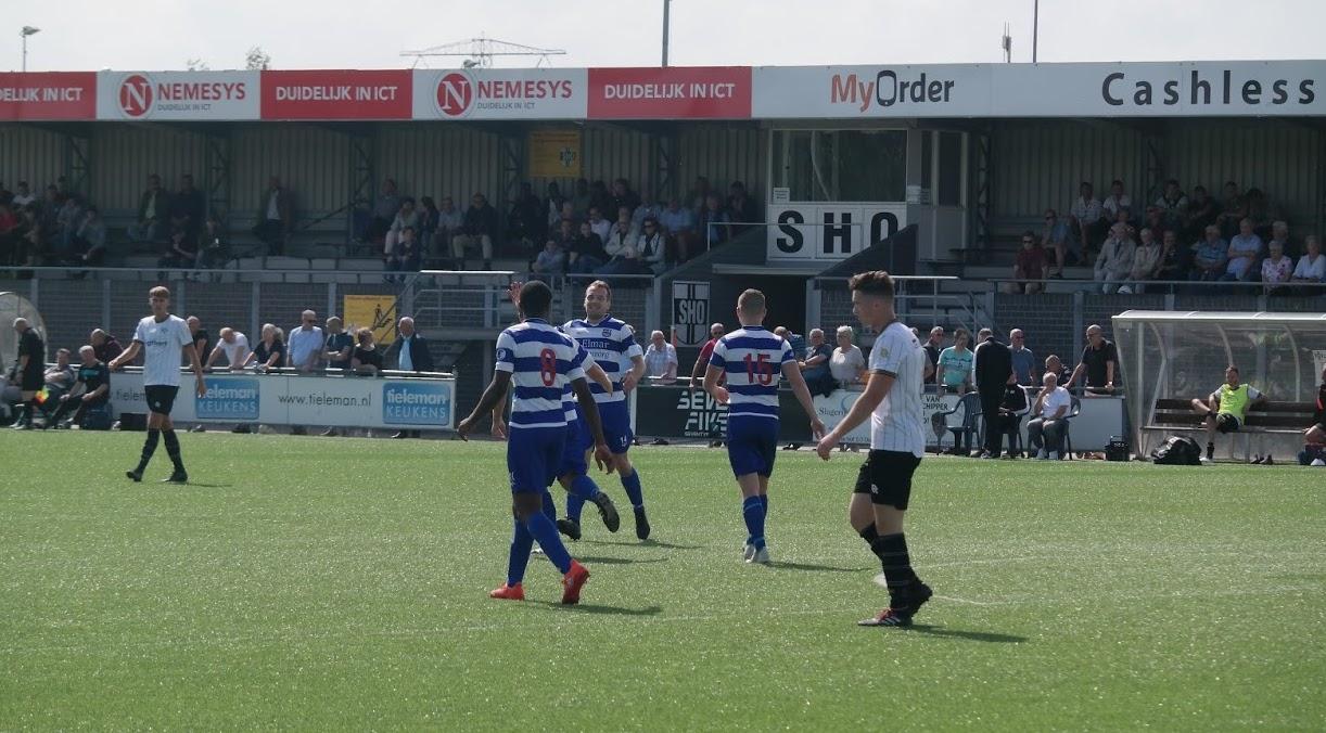 XerxesDZB wint ook 4e oefenwedstrijd van VV Spijkenisse
