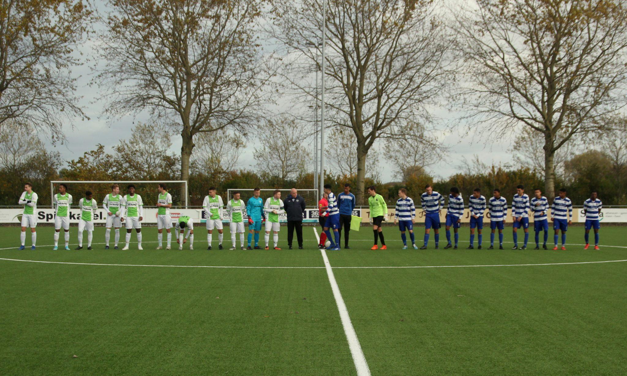XerxesDZB JO19-1 speelt gelijk tegen VV Spijkenisse (Fotoreportage)