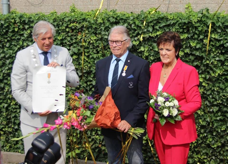 Piet Huurman tot lid in de Orde van Oranje-Nassau benoemd!