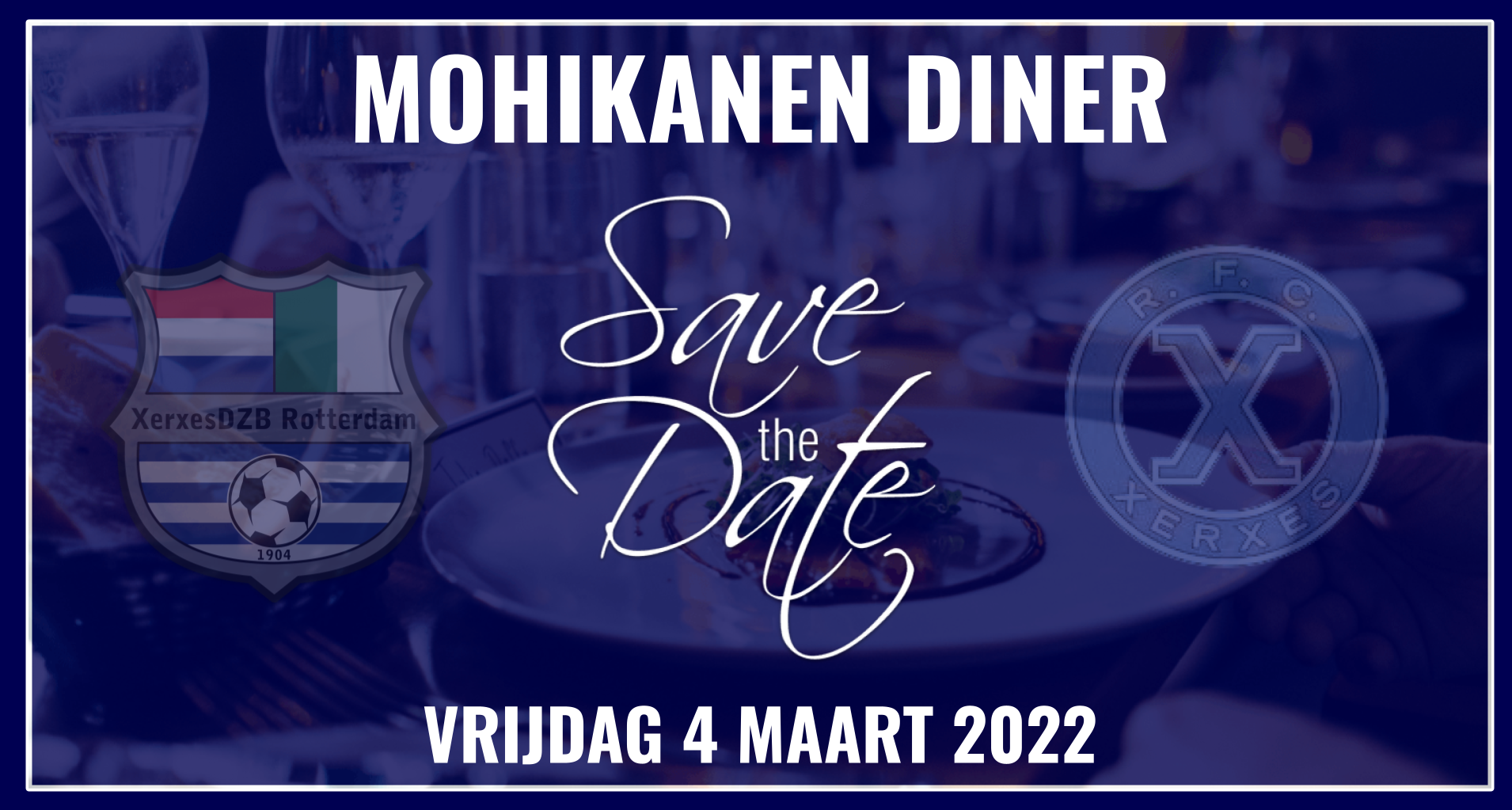 Save the Date! Mohikanen-diner 2022