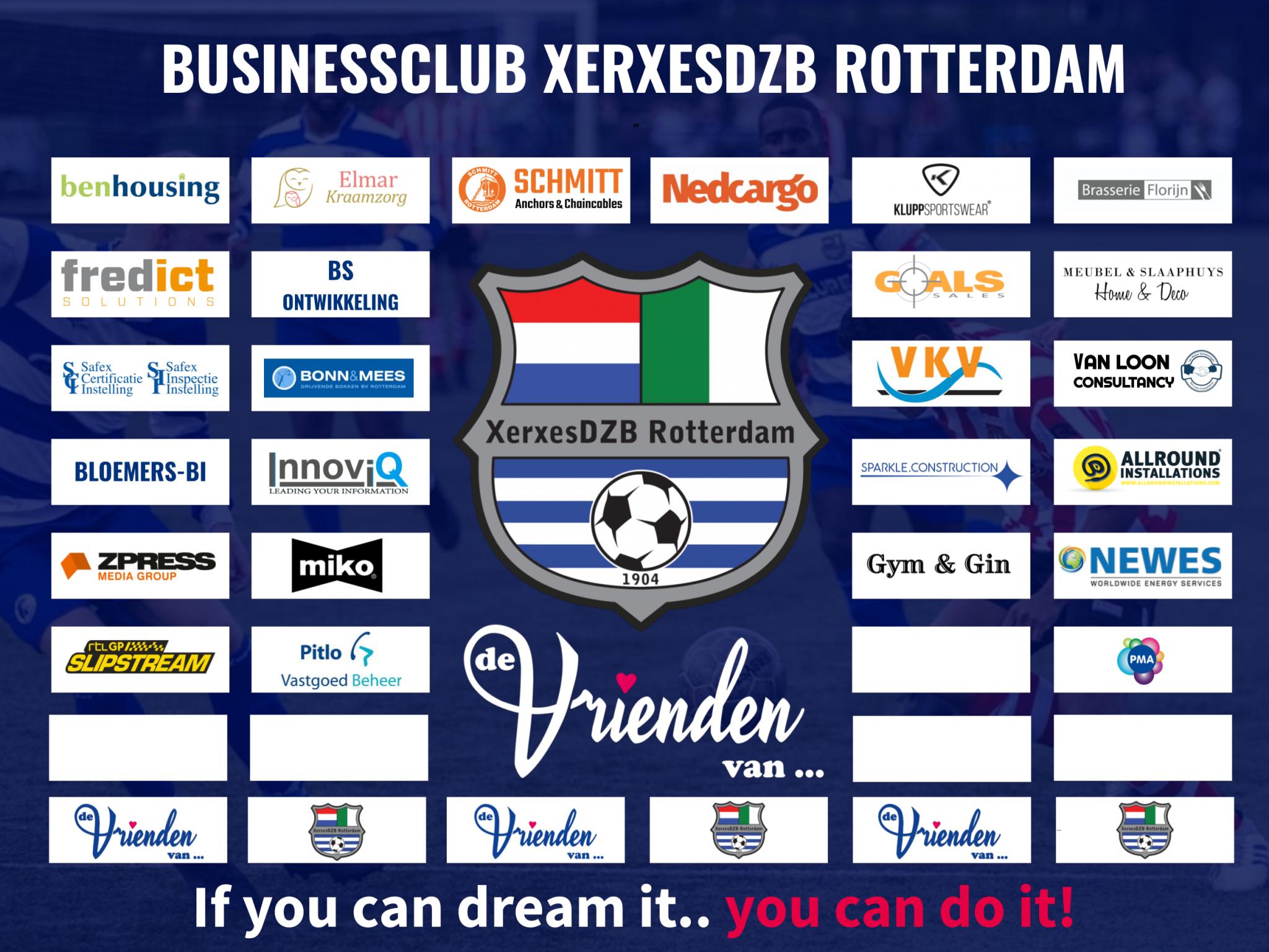 Pitlo Vastgoed Beheer 25e Businessclub lid van XerxesDZB!