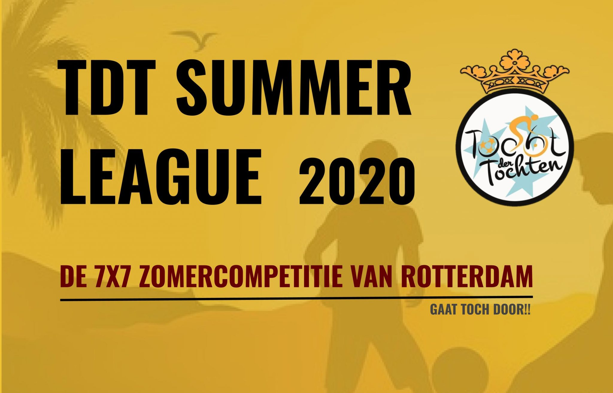 TDT Summer League 2020 start zaterdag 4 juli bij XerxesDZB!