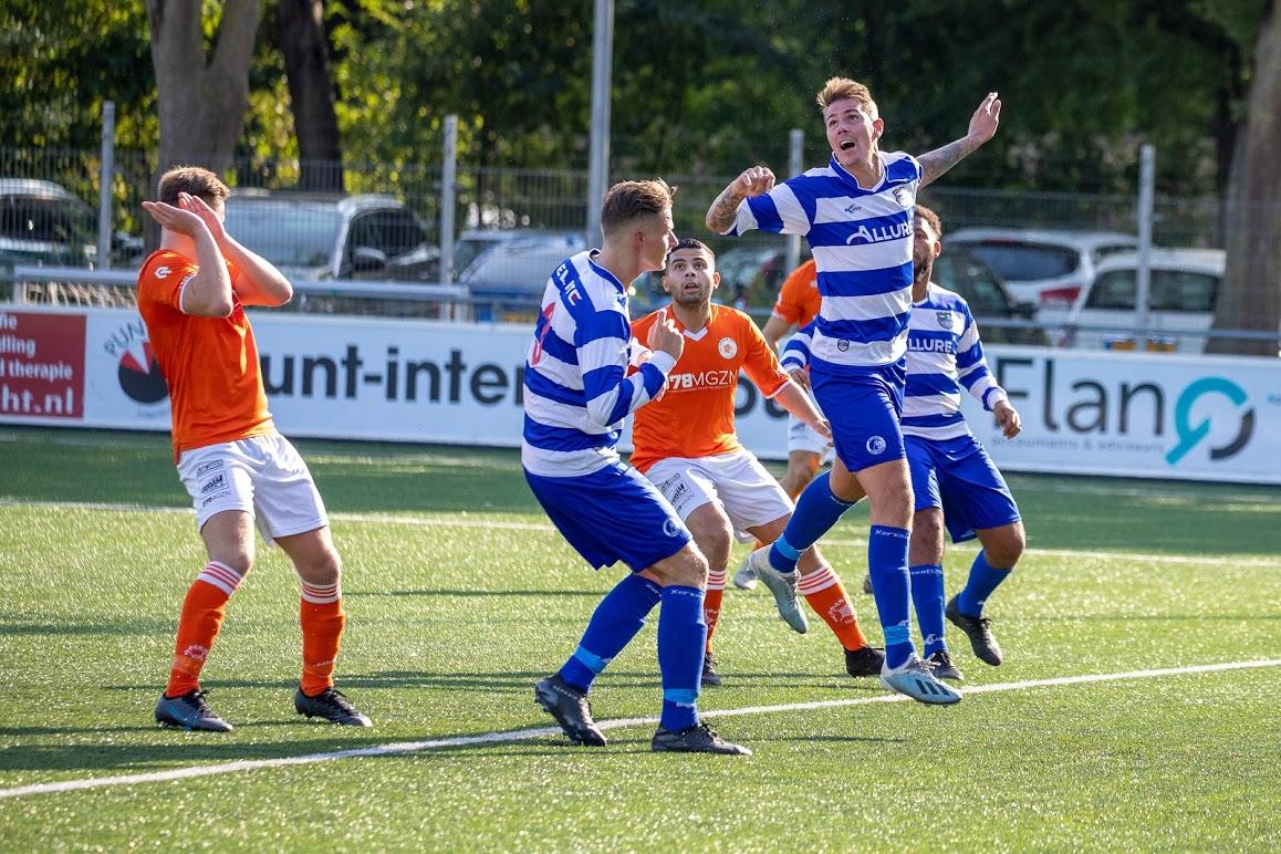 XerxesDZB speelt gelijk bij Oranje Wit, doelman Lars Breure(17) maakt debuut