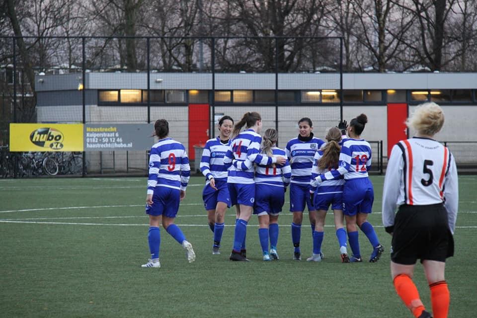 XerxesDZB Vrouwen 1 winnen ook laatste wedstrijd voor winterstop!