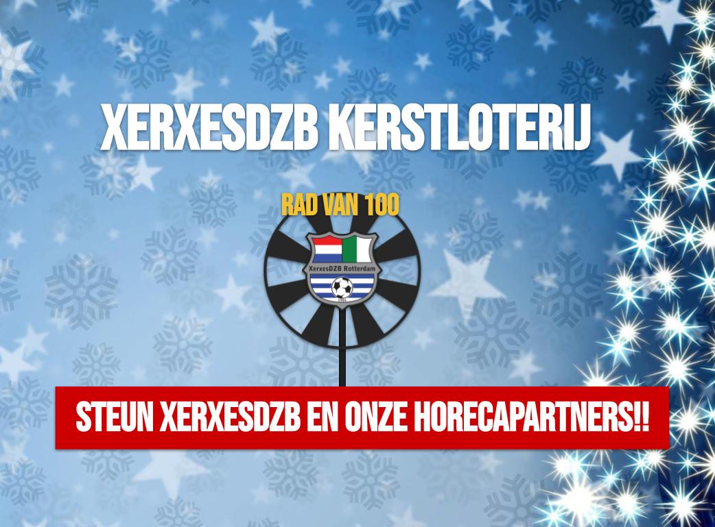 Zaterdag 19 december online Kerstloterij bij XerxesDZB!